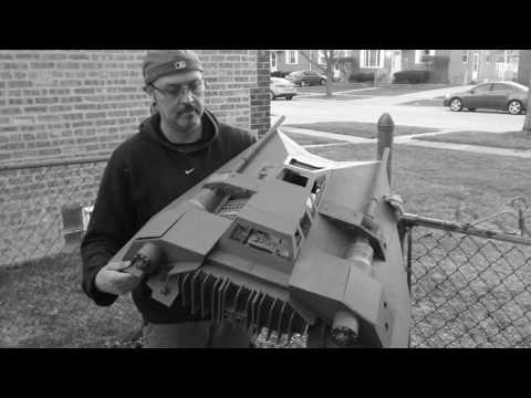 STAR WARS 1/6 scale Scratch Built SPEEDER.