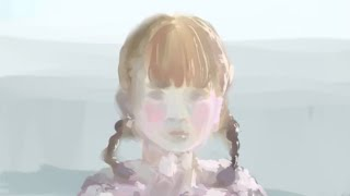 LADYBABYで活躍している金子理江をモチーフにクリスタを使って描いてみ...