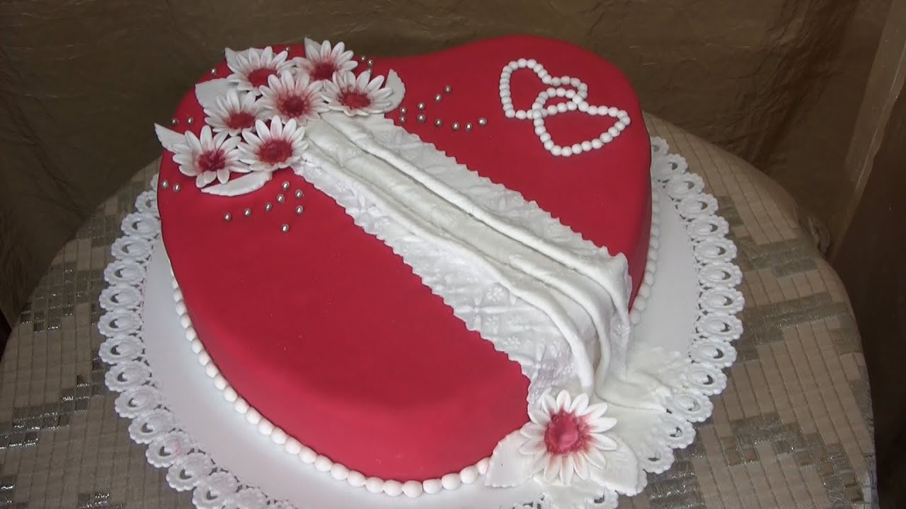 spesso Torta cuore per San valentino,RICETTA PERFETTA e SEMPLICE - YouTube MY22
