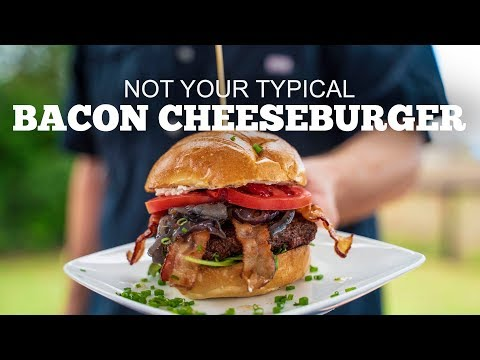 """Not Your Typical"" Bacon Cheeseburger"