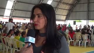 Deputada Aderlânia Noronha Inauguração da Quadra de Esportes do Tomé em Quixeré