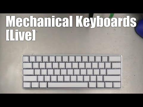 Mechanical Keyboards Live! - Let's build a Carbon Fiber 60% from 1upkeyboards