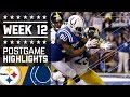 Steelers Vs. Colts | Nfl On Thanksgiving Week 12 Game Highlights video