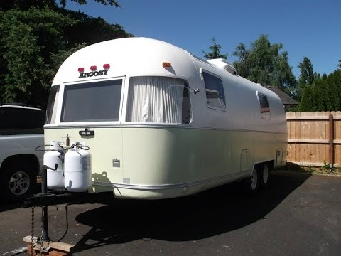 1977 Argosy 26 Aluminum Travel Trailer Youtube