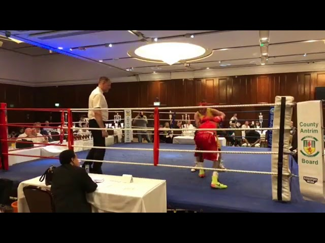 2018 County Antrim Belfast Boxing Classic - Fight 3