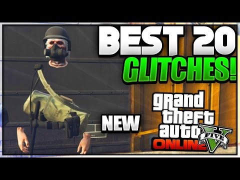 """GTA 5 Online - *NEW* """"SOLO BEST 20 GLITCHES"""" - Patch 1.39 (Invisible Legs,Space Ranger & More!)"""