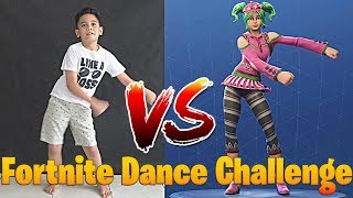FORNITE DANCE CHALLENGE GONE WRONG !! TheRempongsHD