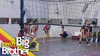 Pinoy Big Brother Season 7 Day 63: Girl Housemates, panalo sa kanilang volleyball game