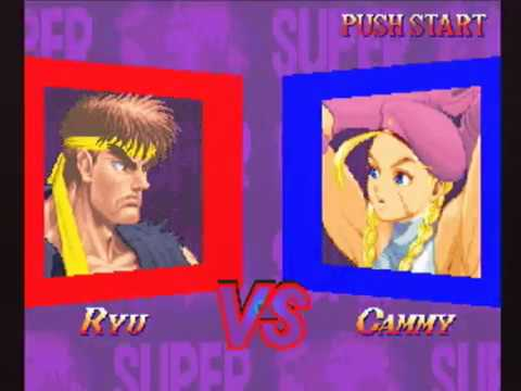 [未編集] Ryu(リュウ) - SUPER STREET FIGHTER II X for 3DO on GV-VCBOX