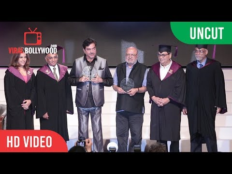 UNCUT - Convocation Ceremony At Whistling Woods International | Subhash Ghai, Shatrughan Sinha