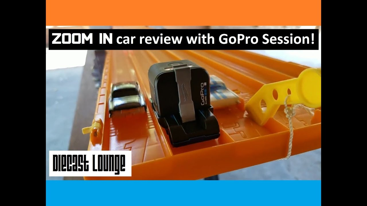 """Hot Wheels - Can The Hot Wheels """"Zoom In"""" GoPro Car Make The Loop?"""