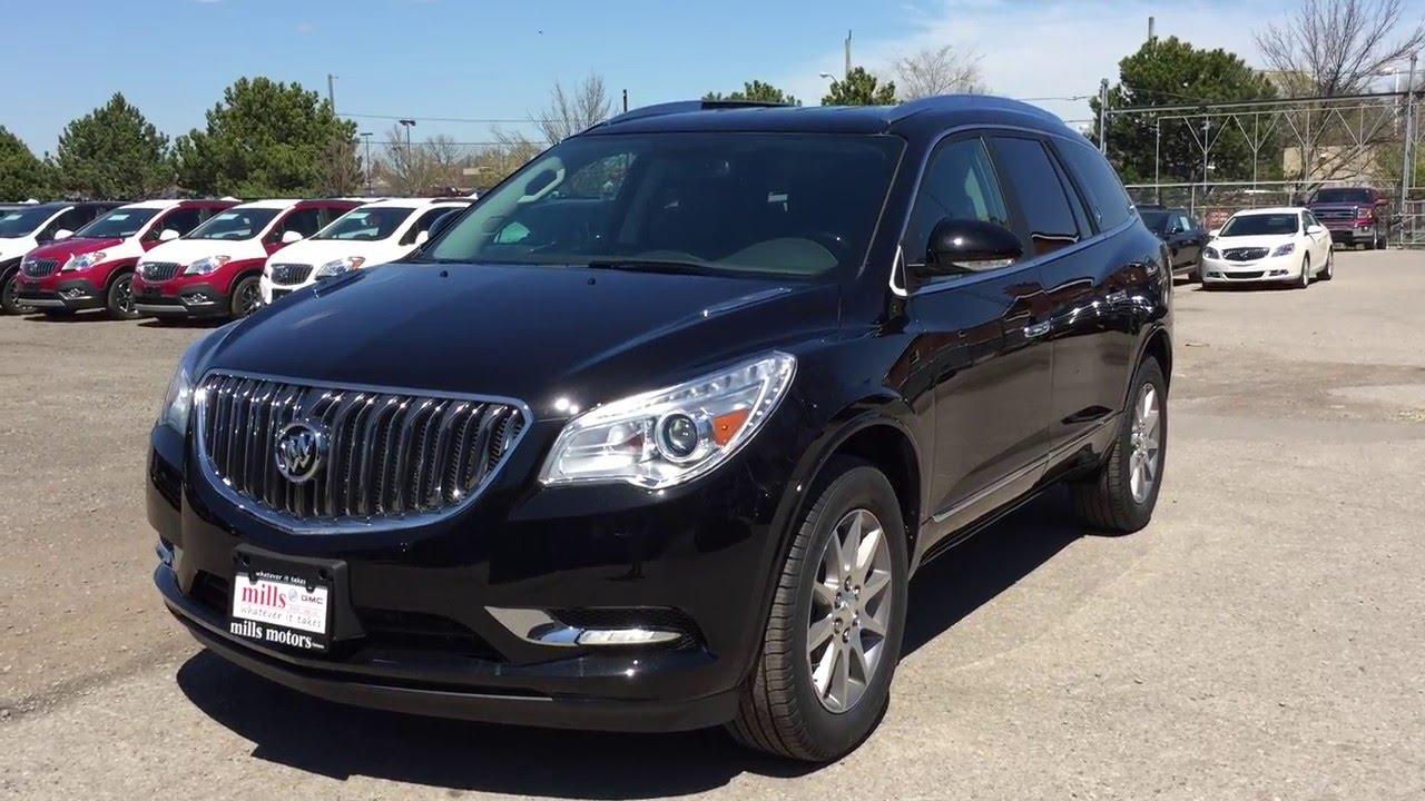 Gmc Acadia Limited >> 2016 Buick Enclave Leather AWD Black Oshawa ON Stock ...