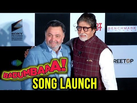 102 Not Out | BADUMBAAA Song Launch By Amitabh Bachchan, Rishi Kapoor | Full Event