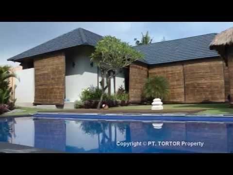 Bali Canggu villa for lease rent 3 en-suite bedroom house rice fields pool