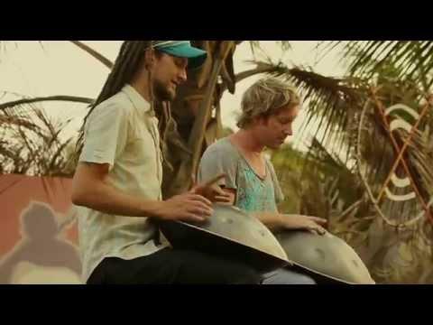 Sams Dance | The Hang Drum Project | Daniel Waples & James Winstanley | filmed in rural India [HD]