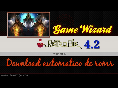 Raspberry Pi 3 – RetroPie 4.2 com Game Wizard (download automático das roms)!!!