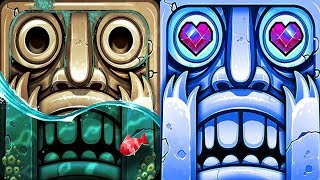 Temple Run 2 Pirate Cove VS Frozen Shadows Android iPad Gameplay