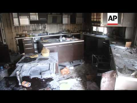Aftermath of attack on US Consulate in Benghazi