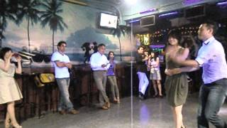 Slasa On1&On2 Taku & Rie @ Salsa Caribe  2012/9/6