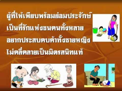 พุทธศาสนสุภาษิต (ป1-ป6)