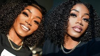 UPDATED: Fall/ Winter Foundation Routine  | FULL COVERAGE | My Natural 3b/3c Curly Bob w/ MyFirstWig