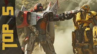 TOP 5 FIGHTS | Bumblebee (Movie)