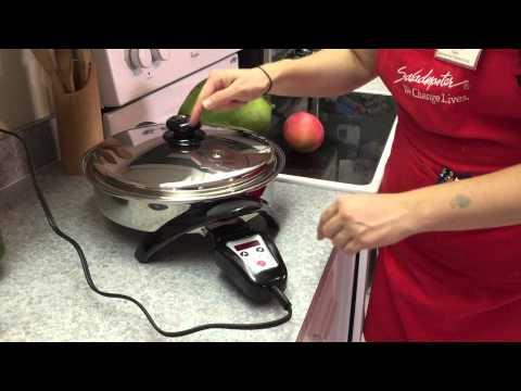 Saladmaster Electric Skillet Basic Instructions.