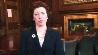 Il saluto di Fiona Smith agli infermieri del XVI Congesso Ipasvi