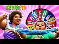 Download SLIME CHALLENGE MYSTERY WHEEL!! Mom vs Son Edition