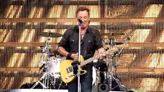 Bruce Springsteen - I Fought The Law - Bern 2009-06-30 CLOSEUP
