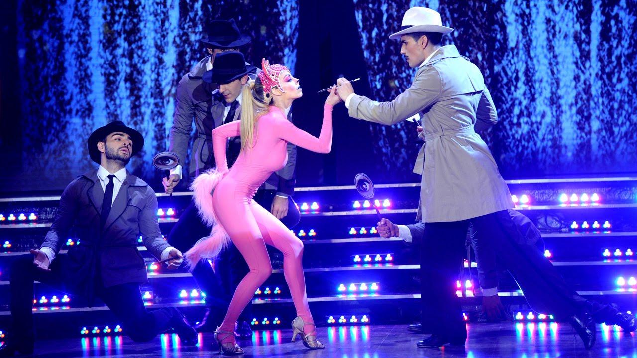 La Pantera Rosa llegó al Bailando y su coreografía fue una pinturita ...