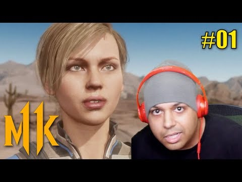 CASSIE GOT ALL THAT ASSIE.. SORRY!! [MK11 STORY MODE] [#01]