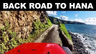 The Back Road to Hana - The Best Way to Get to Hana