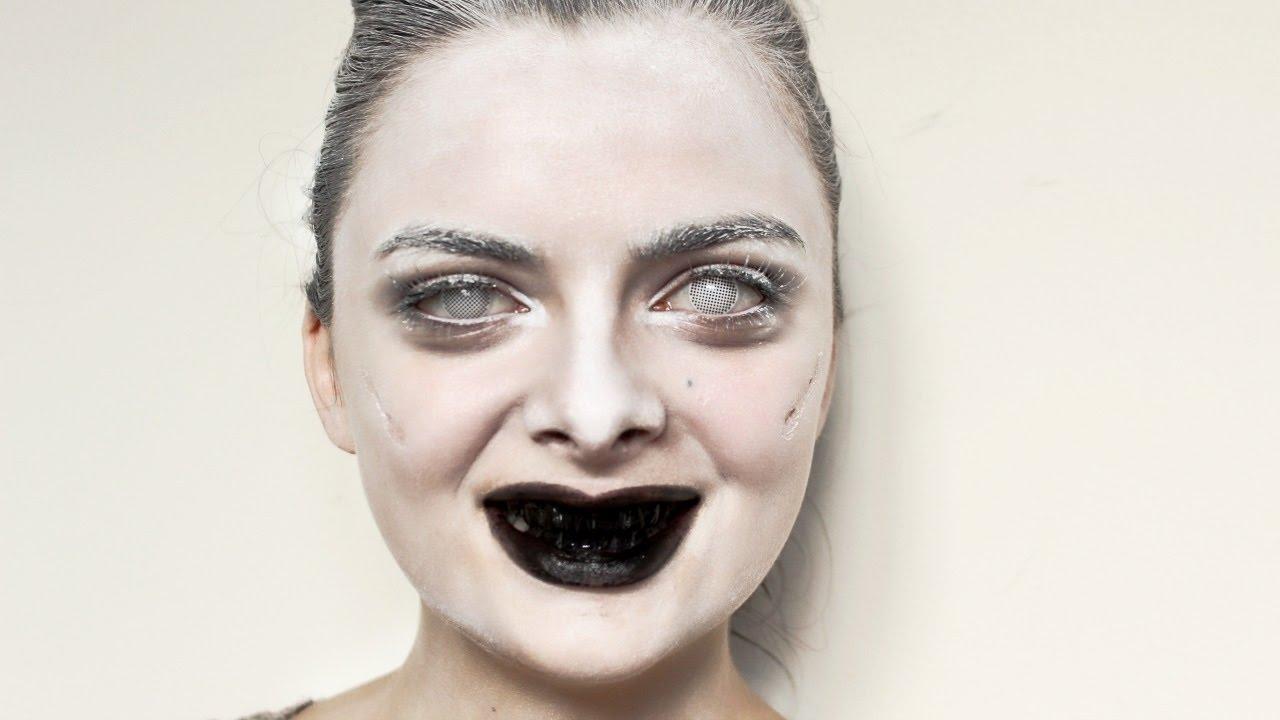 Ghost   Last Minute Costume   Halloween Makeup Tutorial - YouTube