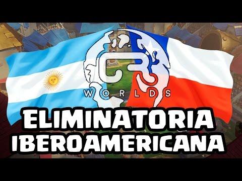 ELIMINATORIAS CRWorlds: Argentina vs Chile - KManuS88 - Clash Royale