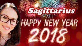 Sagittarius January 2018 Horoscope. MANIFESTING POWERFULLY in 2 Areas of Life