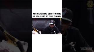 Mic Geronimo talks about the time he stood up for Tupac at the tunnel(Drink Champs)