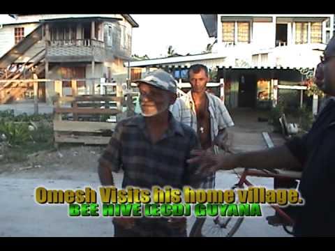 Omesh @ Home in Bee Hive, Guyana.
