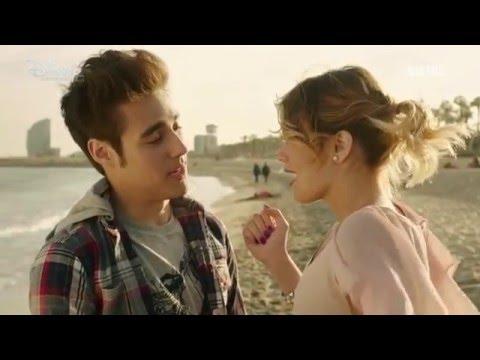 violetta 3 - violetta und leon küssen sich fast am strand von barcelona folge 20 - youtube