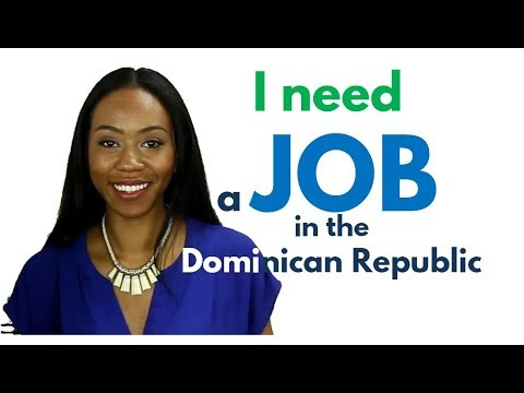 Living in the Dominican Republic: Jobs for English Speakers