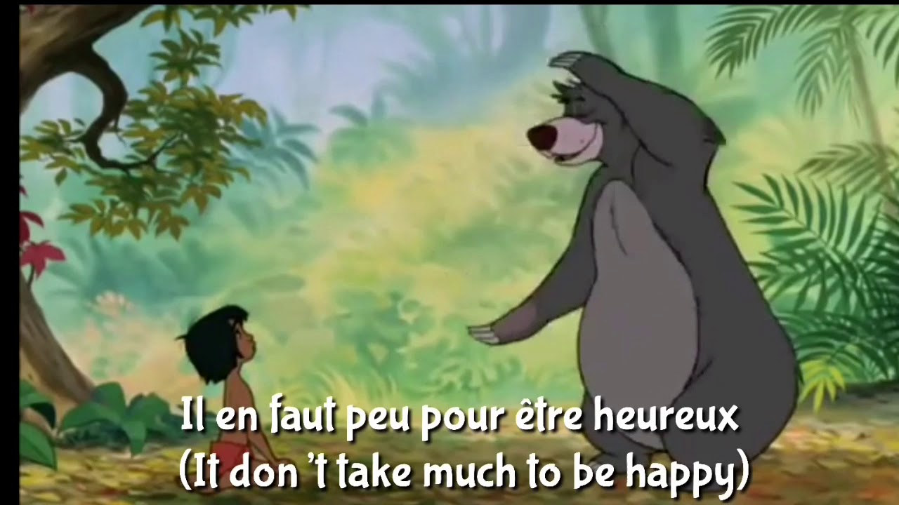 2a95a955349 Look For the Bare Necessities • French (EU) w/Subs&Trans - YouTube