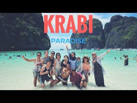 KRABI - THAILAND 🌊 TRAVEL VLOG 2017 (PARADISE IN GoPro1080 SUPERVIEW)