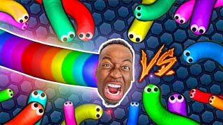 Slither.io 200,000+ Score Epic Slitherio Gameplay With The Prince Family