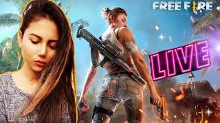 Free Fire Live- Girl's Rush wala Gameplay With Miss Diya | BlackPink Gaming