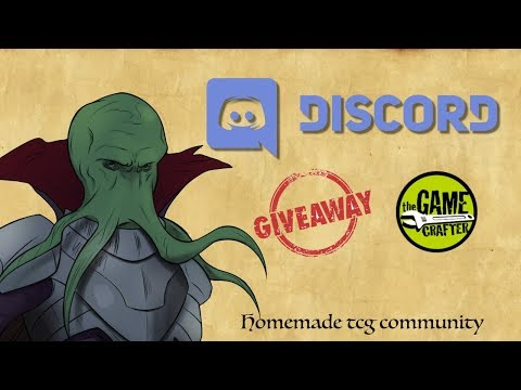 homemade TCG: Discord Giveaway [Easter 2018 open]