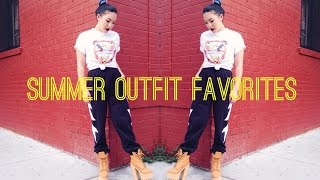 Summer Outfit Favorites Thumbnail