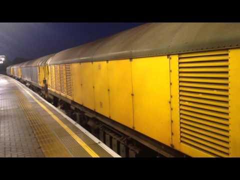 London Underground Engineering trains at Ruislip Gardens (01/10/14)