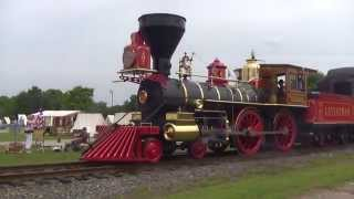 2015 Lincoln Funeral Train at the N.C. Transportation Museum