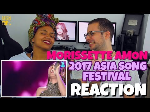 Morissette Amon - 2017 Asia Song Festival | REACTION