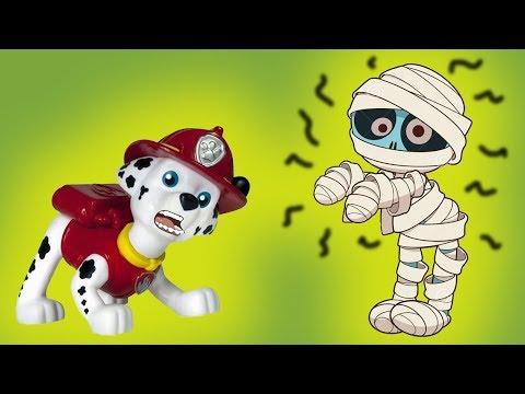 ДОМ СТРАШИЛОК! Мультики с игрушками Щенячий патруль. Мультфильмы для детей, новые серии 2018 - Как поздравить с Днем Рождения